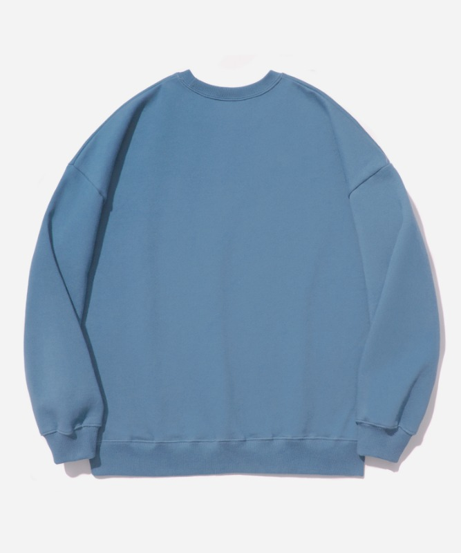 SP OG Logo Crew Neck-Light Blue