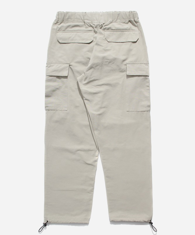 SP Mono Cargo String Pants-Ivory