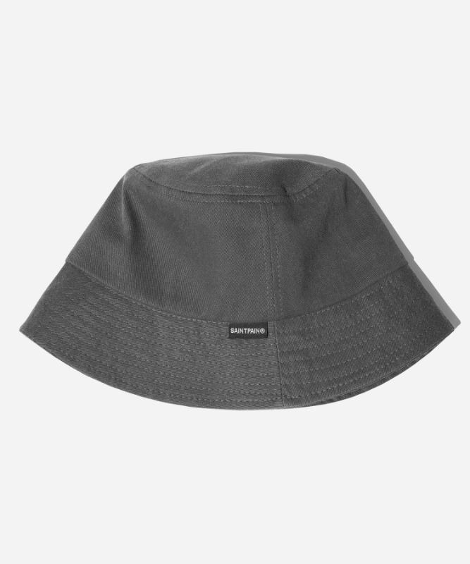 SP Pigment Washing Bucket Hat- Charcoal
