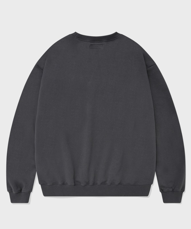 SP ORIGINAL LOGO CREWNECK-CHARCOAL