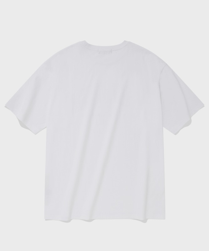 SP ARCH LOGO T-WHITE