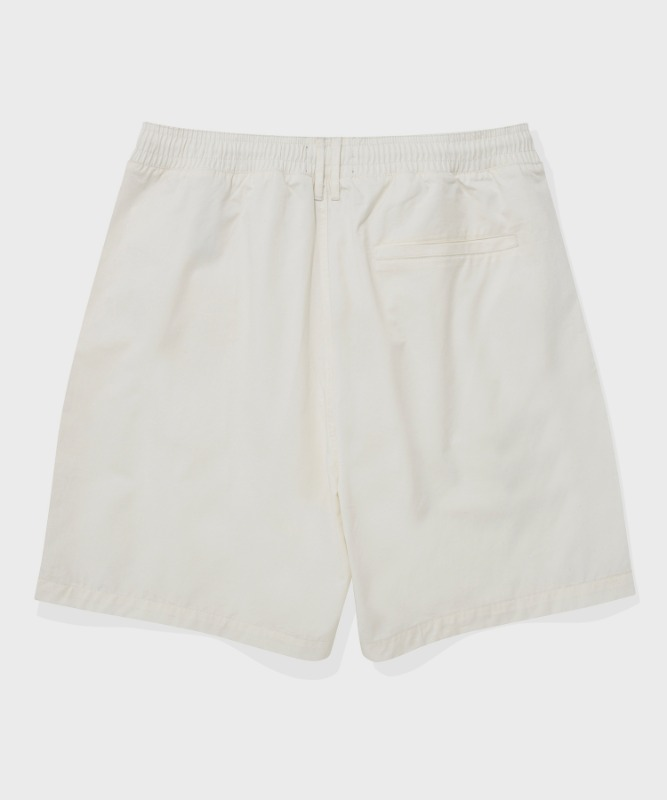 SP FIELD SHORT PANTS-IVORY