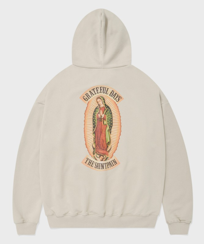SP OUR LADY OF GUADALUPE HOOD-BEIGE