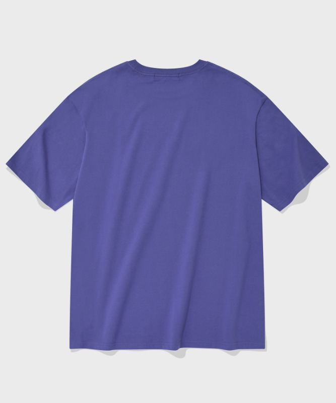 SP ARCH LOGO T-PURPLE