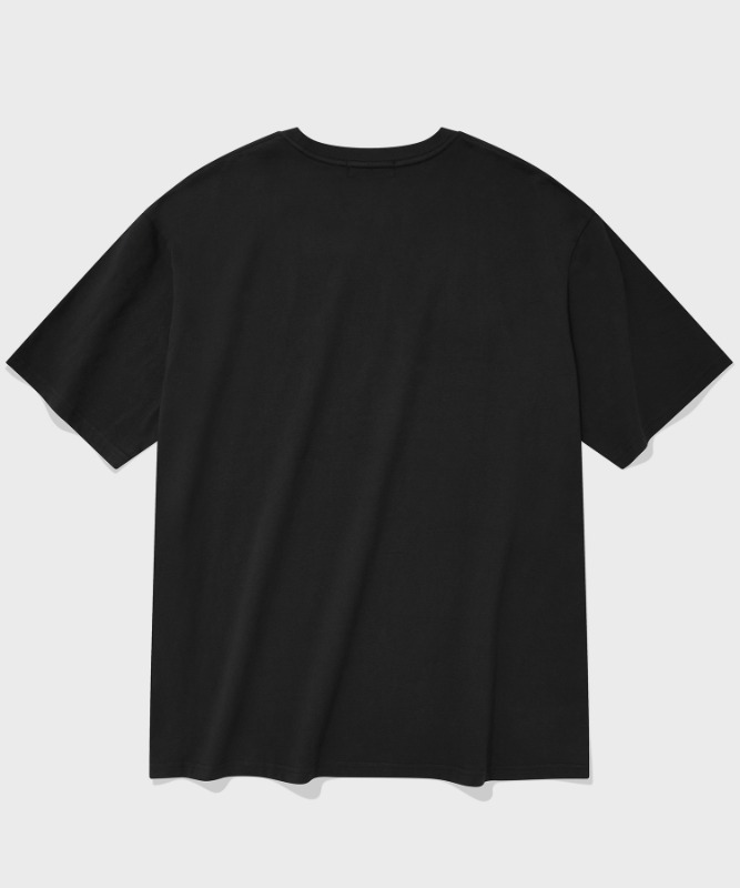 SP ORIGINAL LOGO T-BLACK