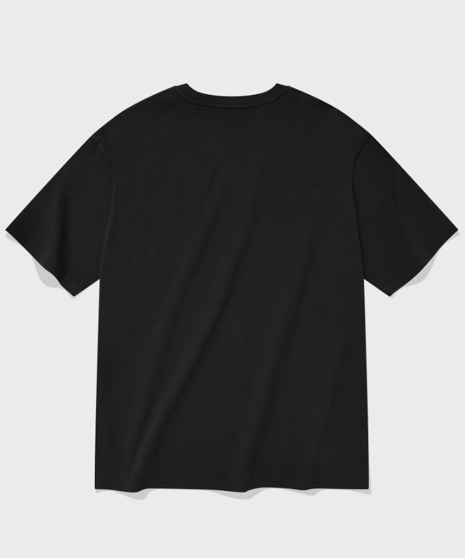 SP ARCH LOGO T-BLACK