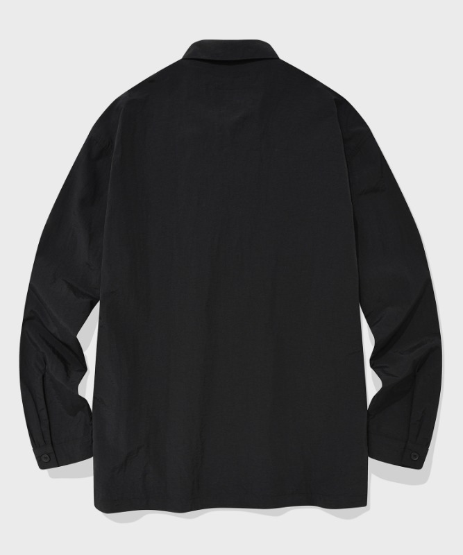SP MINIMAL WORK SHIRTS-BLACK