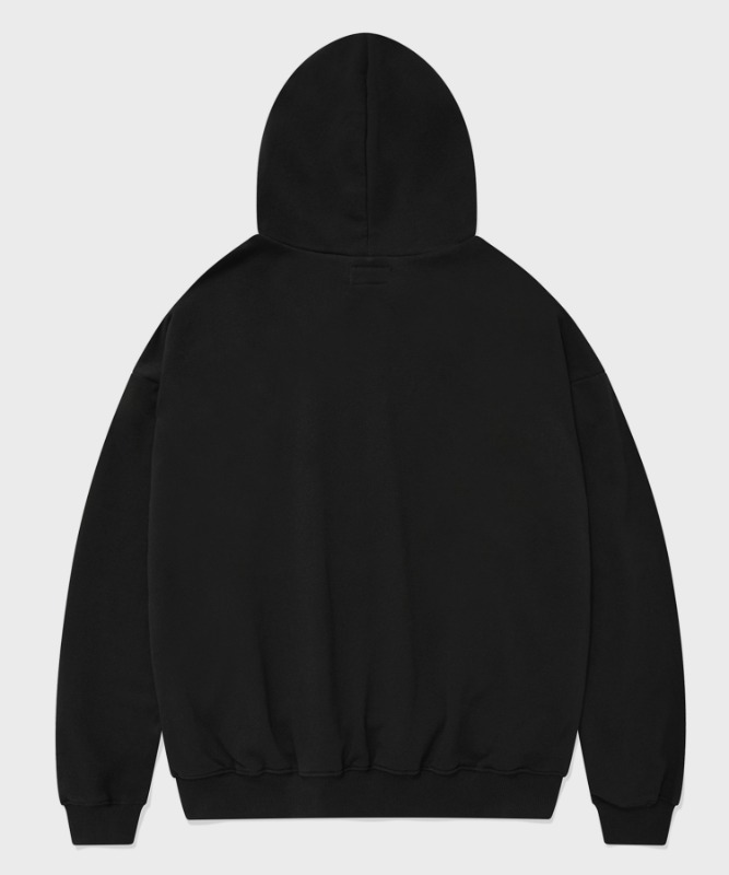 SP ORIGINAL LOGO HOOD-BLACK