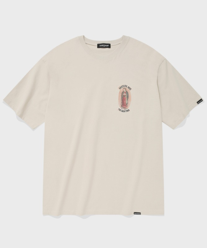 SP OUR LADY OF GUADALUPE T-BEIGE