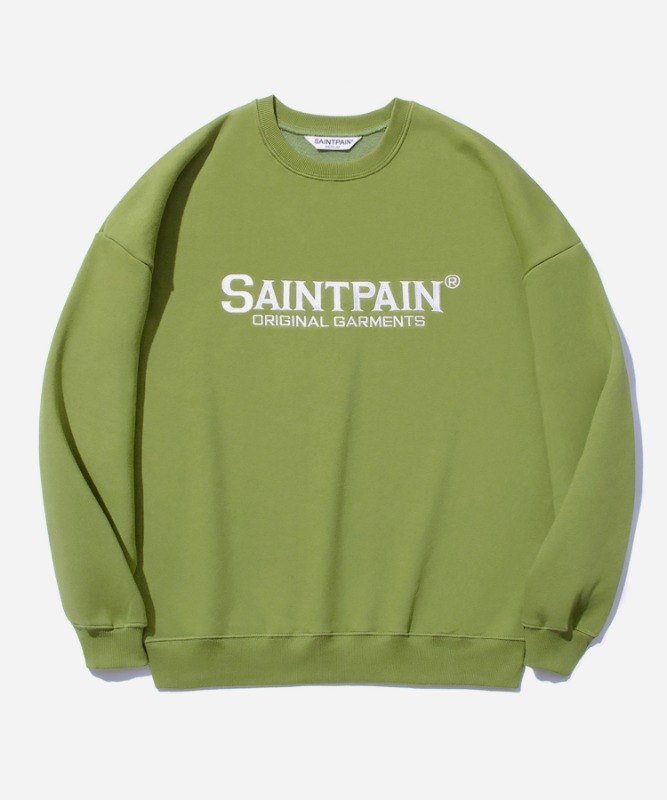 SP OG Logo Crew Neck-Light Green