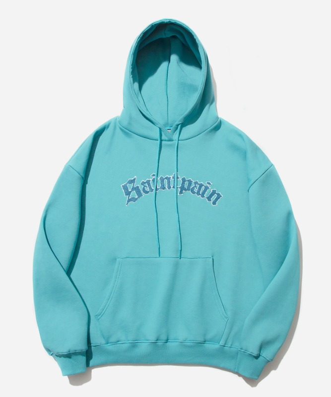SP Arch Logo Hood-Blue Green