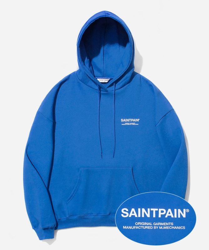 SP Variation Logo Hood-Blue