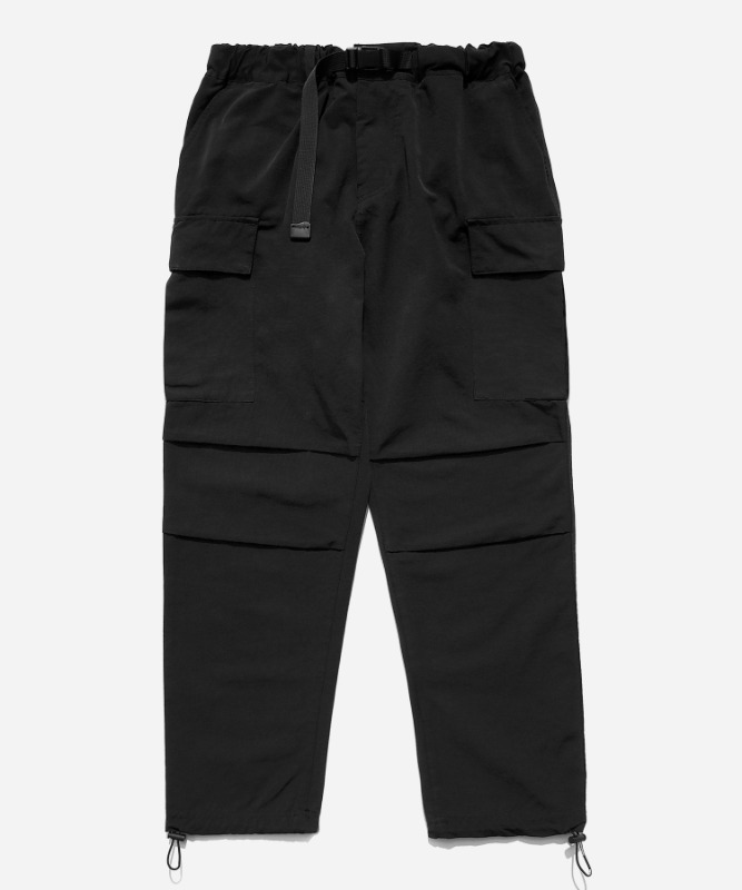 SP Mono Cargo String Pants-Black