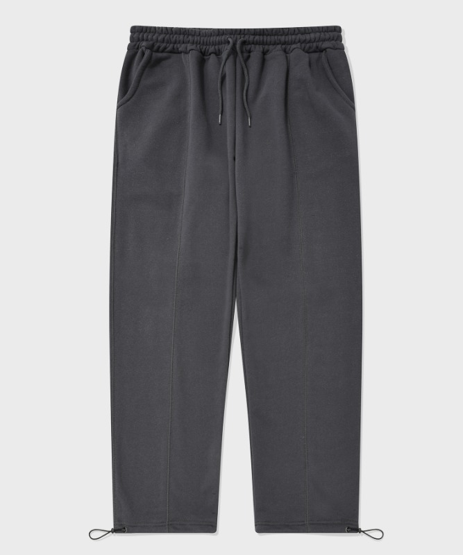 SP STICH TRACK PANTS-CHARCOAL