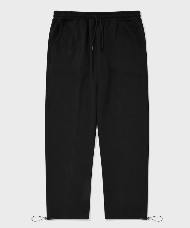 SP STICH TRACK PANTS-BLACK