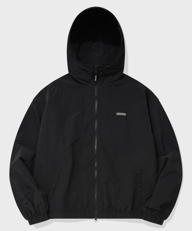 SP HOOD WIND PARKA-BLACK