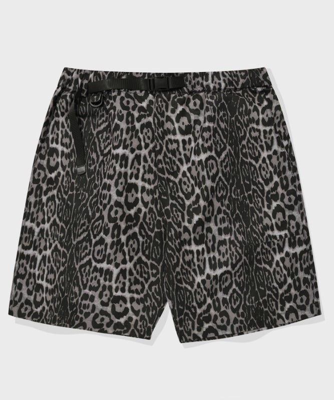 SP FATIGUE SHORT PANTS-GRAY LEOPARD