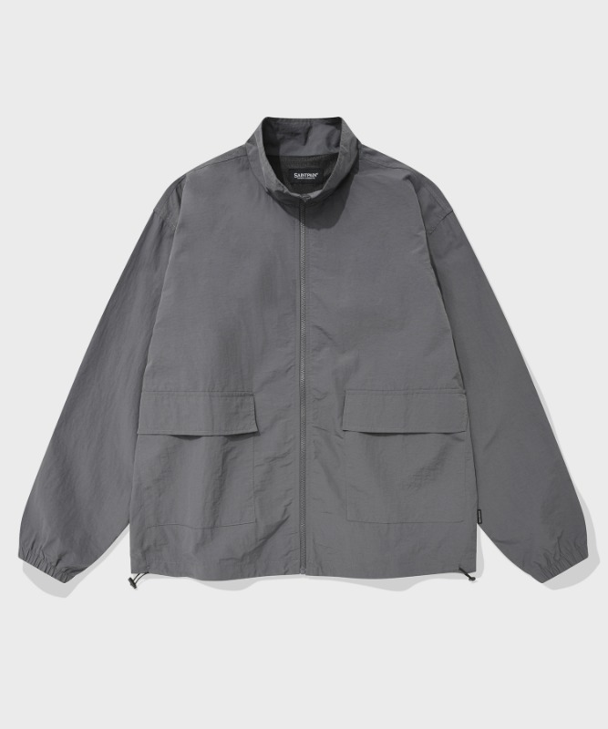 SP TRACK WORK JACKET-GRAY