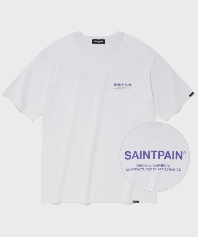 SP VARIATION LOGO T-WHITE