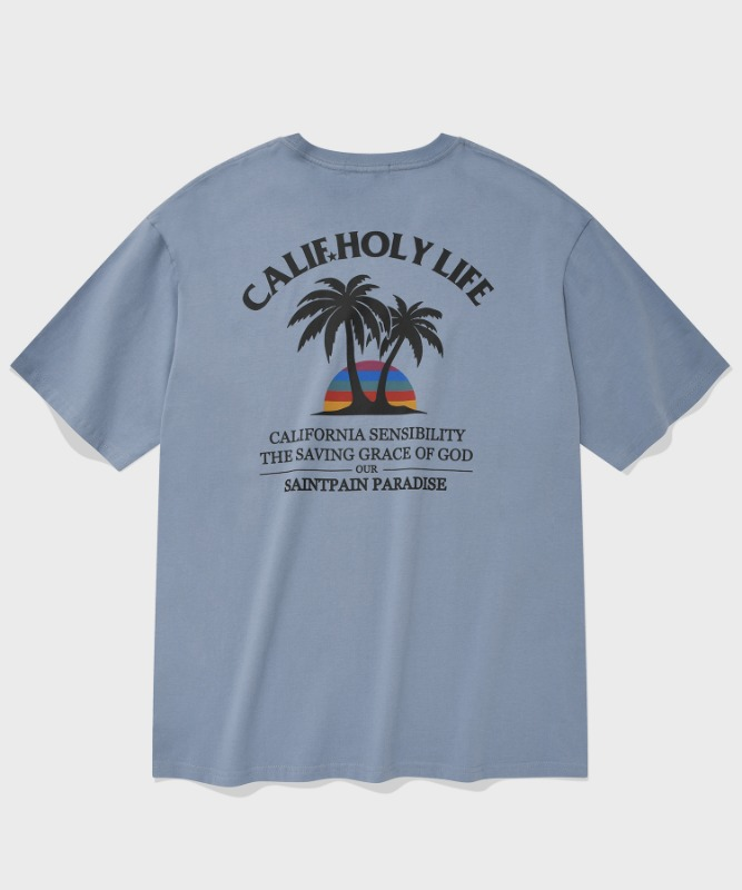 SP MALIBU BEACH T-PASTEL BLUE